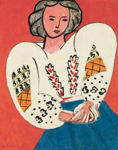 La Blouse Roumaine Henry Matisse