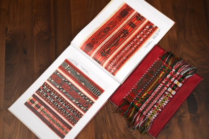 Traditional Ethno Textile Fabric Bulgarian Embroidery Belts
