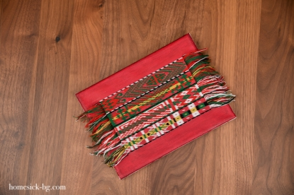 Traditional Ethno Textile Fabric Bulgarian Embroidery Belts Български народни традиционни колани