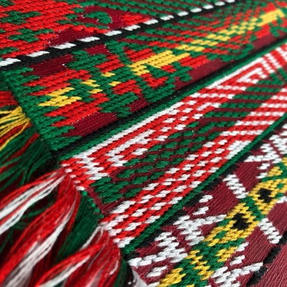 Traditional Ethno Textile Fabric Bulgarian Embroidery Belts Български народни традиционни колани шевица шевици везба