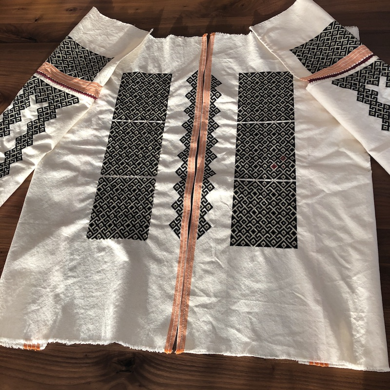 IA Romanian Blouse Modern Contemporary